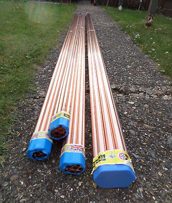 90m X 15mm Coppper pipe + 30m X 22mm Copper Pipe + 490 End Feed Fittings