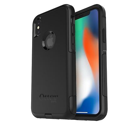 OtterBox COMMUTER SERIES Case for iPhone X (ONLY) - Standard Packaging - BLACK