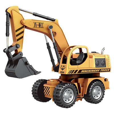 40Hz 5CH Remote Control Excavator Shovel Engineering Truck Car RC Toys + Light