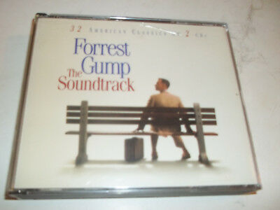 Forrest Gump: The Soundtrack - 32 American Classics On 2 CDs by Various Artists