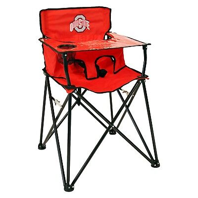 CIAO BABY Portable HIGH CHAIR Travel CAMPING Vacation COMPACT Folding OHIO STATE