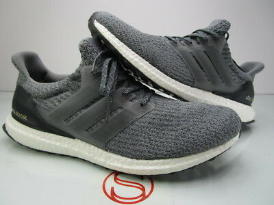 release info on 4db1a 1f189 DS ADIDAS ULTRA Boost BA8849 MYSTERY GREY 12