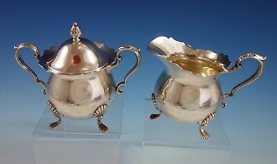 Jack Shepard by Fisher Sterling Silver Sugar and Creamer Set 2pc #2367 (#2563)