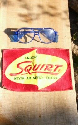 Huge Vintage 60s Squirt  soda pop large distributor delivery man jacket patch