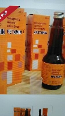 Apetamin Vitamin Weight Gain Syrup .100% Genuine. UK 🇬🇧 & INTERNATIONAL BUYERS