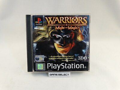 Warriors Of Might And Magic Playstation 1 2 3 Ps1 Ps2 Ps3 Pal Italiano Completo
