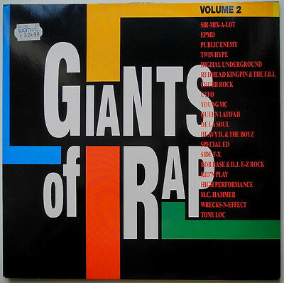 ★★2 x LP DE**VARIOUS - GIANTS OF RAP - VOLUME 2 (BCM RECORDS '89)★★24633