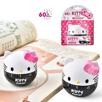 Cute Hello Kitty Kitchen Timer Cooking Timers Management Clock Loud Alarm 60 Min