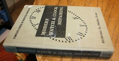1944 complete Course in Practical Horology Modern Watch and Clock Repair