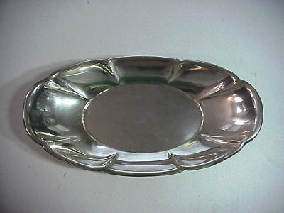 GORHAM 27  Antique STERLING SILVER BREAD DISH TRAY 337  Grams NOT SCRAP