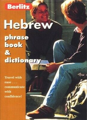 Hebrew Phrase Book and Dictionary (Berlitz Phrase... by Berlitz Guides Paperback
