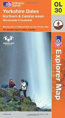 Yorkshire Dales - Northern & Central Areas (OS Explorer Map) by Ordnance Survey