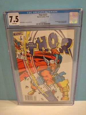 Thor # 337 Marvel 11/83 1st Appearance of Beta Ray Bill CGC 7.5