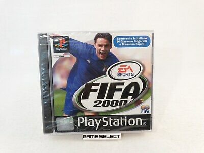Fifa 2000 Playstation 1 2 3 One Ps1 Ps2 Ps3 Psx Pal Ita Italiano Nuovo Sigillato