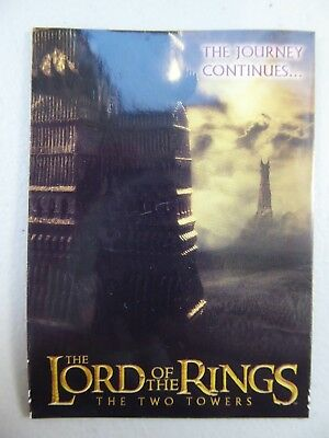 TOPPS Lord of the Rings: The Two Towers - Trading Card #90 CHECKLIST
