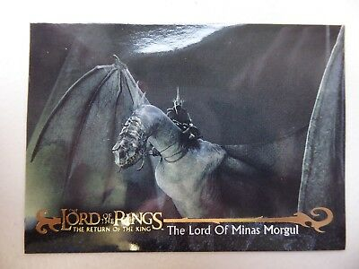 TOPPS Card : LOTR The Return Of The King  #48 THE LORD OF MINAS MORGUL