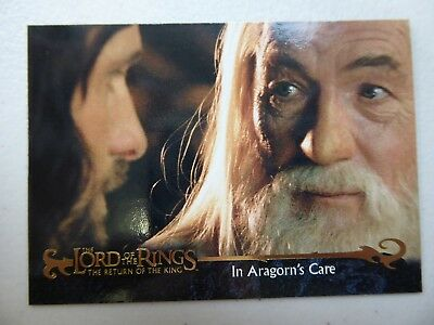 TOPPS Card : LOTR The Return Of The King  #26 IN ARAGORN'S CARE