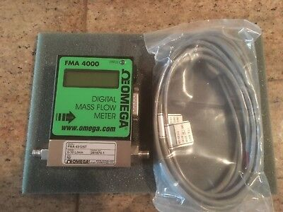 Omega Programmable Digital Mass Flow Meter FMA 4000 Series Model FMA-4312ST NEW