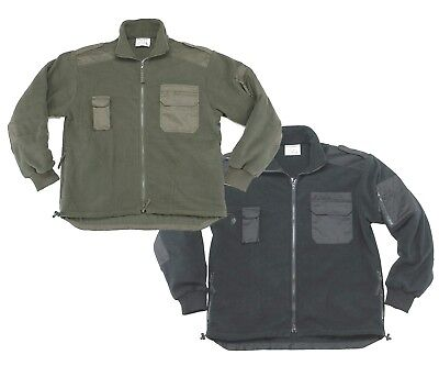 New military style fleece jacket coat tactical cold weather thermal polar