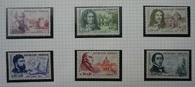 FRANCE 1960 Red Cross Fund set of 6 all v.f. Mint never hinged SG 1488 - 1493