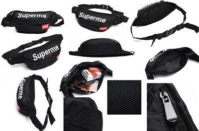 fbf138a7b3 Supreme Waist Bag Fanny Pack Outdoor Pouch Military Camping Hiking Running  Chest