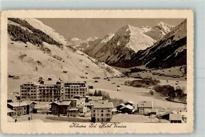 10446345 - Klosters Grand Hotel Vereina Winter 1917