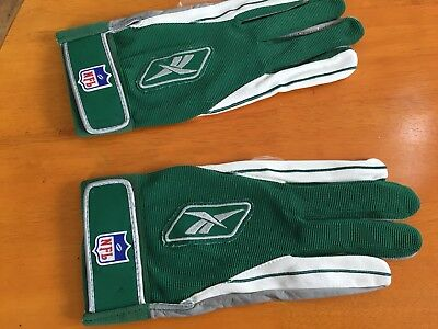 Pair Of Genuine Unused Reebok NFL Gloves From 1990's Adult Size X-Large (RARE)