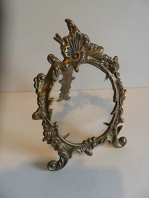 Wonderful Ornate Design Brass Photo Frame