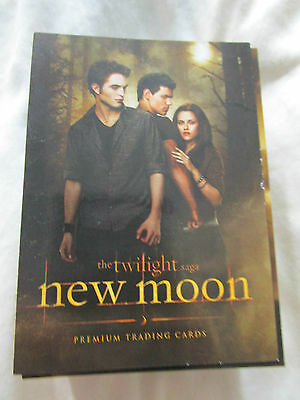 Twilight New Moon Neca Trading Cards Set with 127 cards in Set Robert Pattinson