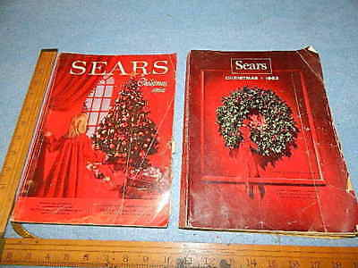 1962 and 1963 Sears Christmas Catalogs