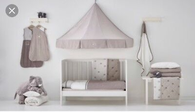Ikea Charmtroll Canopy Cot/Bed Baby Unisex