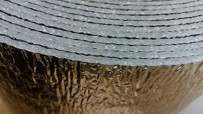 Double Alu Reflective Insulation for Home Floor Wall Roof  Boat Shed Car Van