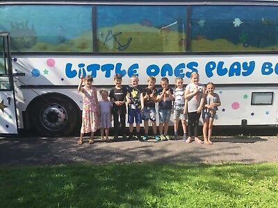 kids party play bus for sale