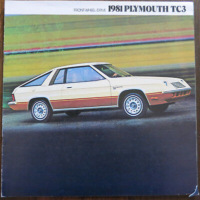 Prospekt Plymouth TC3 – 1981