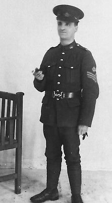 WW1 WWI CEF Canadian soldier - sergeant of unknown regiment