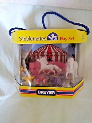 2006 BREYER No.5307 Circus Stablemates play set New in The box horse models