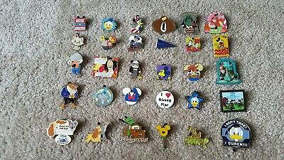 Disney TRADING PINS! 30 Pin Lot - Exactly As Pictured! No Duplicates Authentic!