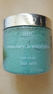 SBC Rosemary and Eucalyptus Foot Salts 500g Large Size