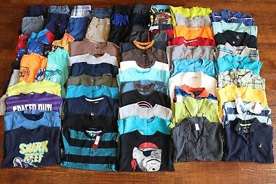 HUGE LOT! Boys spring/summer size 6/7 - 69 pieces! EUC smoke-free, pet-free home