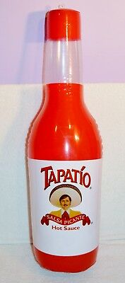 Tapatio Salsa Picante Mexican Hot Sauce Inflatable Blow Up Bottle 2 Feet Tall!