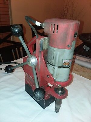 milwaukee 4270-20 compact electomagnetic drill press
