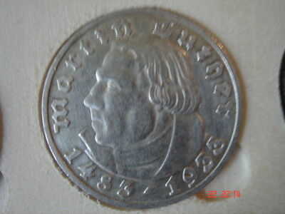 5 Mark Luther 1933 D J. 353
