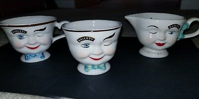 Bailey's 1996 Limited Edition Yum Cups -Set of 3