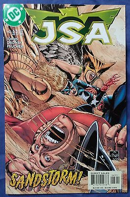 JSA (1999) #63 by Geoff Johns & Jerry Ordway - DC COMICS/JUSTICE SOCIETY