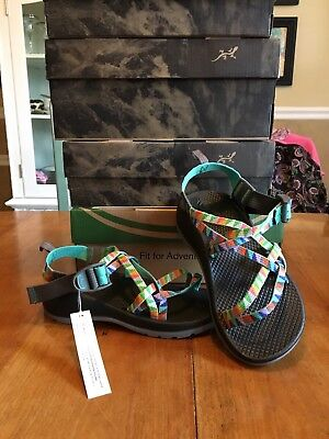 Chaco Kids Sandals Size 3 Camping Turquoise New