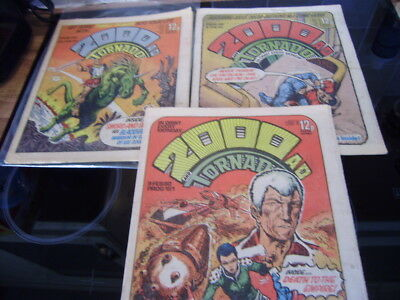 2000AD PROGS 149-151 First Appearance of Judge Death! Sought After Issues