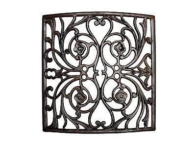 antique curved iron heat grate - 25 available