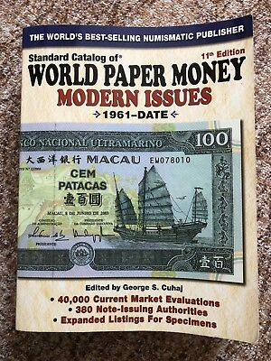 Standard Catalog of World Paper Money 11th Edition