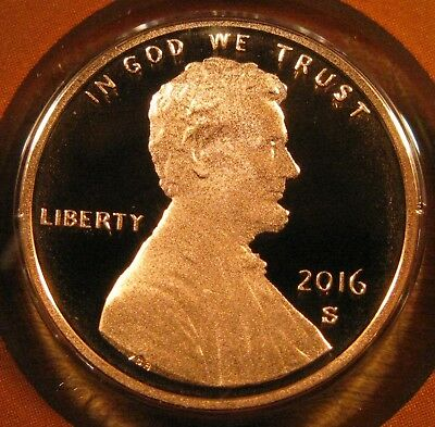 2016 S Lincoln Shield Cent Proof Coin