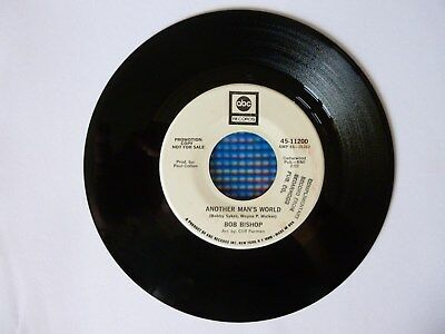 """Bob Bishop - Another Man's World b/w Somewhere In The Country (2"""", ABC)"""